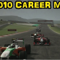 F1 2010 Career - Race 7 - Turkey - Technical Difficulties