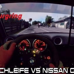 Nordschleife Vs Nissan GTR Gt3 - Assetto Corsa #6