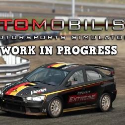 Automobilista Beta | Mitsubishi Lancer Evo Rallycross @ Tykki Finland