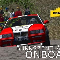 rallyFactor MARB 2015 | Miskolc Rally | SS3 Bükkszentlászló | Balazs Toldi OnBoard