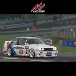 AC: DTM Battle - E30 vs 190 - Brands Hatch GP