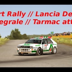 Dirt Rally // Time Attack °5 // Flugzeugring Reverse // Lancia Delta Integrale
