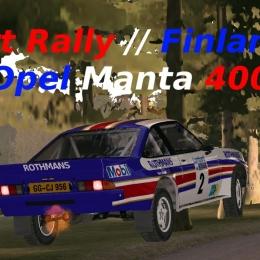 Dirt Rally // Opel Manta 400 // Finlande // Ca marche fort !!