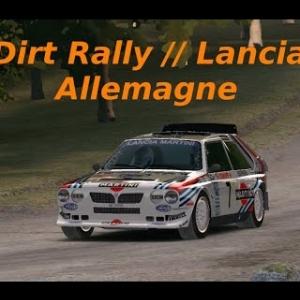 Dirt Rally // Trois génération de Lancia // Allemagne !!