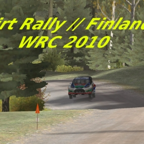 Dirt Rally // Finlande // WRC 2010 // Chaud !!!!!!