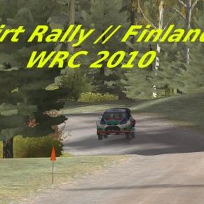 Dirt Rally // Finlande // WRC 2010 // Chaud !!!!!!