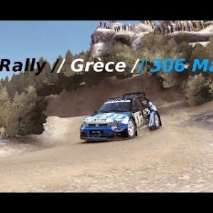 Dirt Rally // Peugeot 306 Maxi // Grèce // Dur dur la traction !