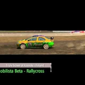 AUTOMOBILISTA BETA RALLYCROSS at KOUVOLA Game Play