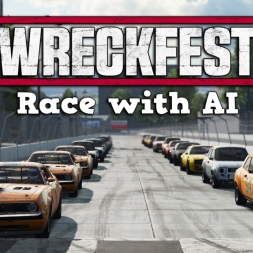 Wreckfest Early Access | Singleplayer Race @ Tarmac Track 2