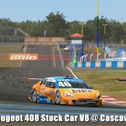 Peugeot 408 Stock Car V8 @ Cascavel - Automobilista Beta 60FPS