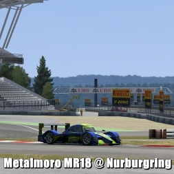 Metalmoro MR18 @ Nurburgring - Automobilista Beta 60FPS