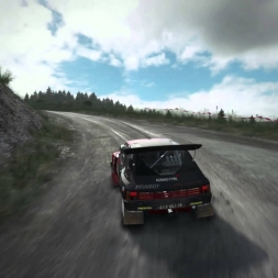 DiRT Rally: Gravity Chase! (Peugeot 206 T16 @ Wales)