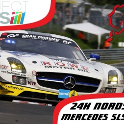 Project Cars | Mercedes-Benz SLS AMG GT3 | Nordschleife | 24 Hours