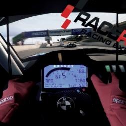 Raceroom - BMW Z4 GT3 @ Laguna Seca - Reality triple screen