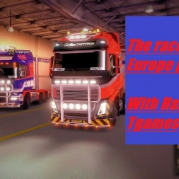 ETS2 Race through Europe part 2: The truck genocide