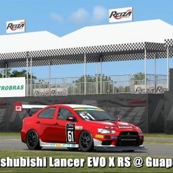 Mitshubishi Lancer EVO X RS @ Guapore - Automobilista Beta 60FPS