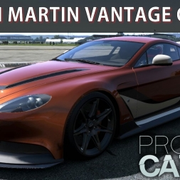 Project CARS Gameplay PC - Aston Martin Vantage GT12 - Free Car