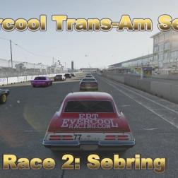 Forza Motorsport 6: Evercool Trans-Am Series Race 2 Sebring