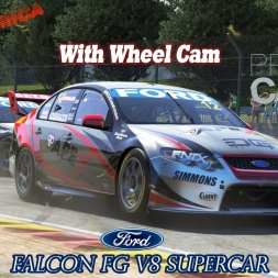 Project CARS:Road America in Ford V8 Supercar [HD] [Wheelcam]