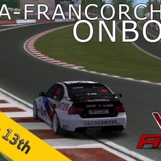 VSR HTCC 2014 | RACE07 | Spa-Francorchamps R2 | Balazs Toldi OnBoard