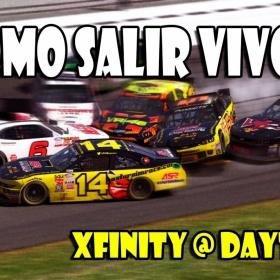 iRacing | Como Salir Vivo... (Xfinity @ Daytona)