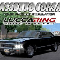 [Reupload] Assetto Corsa | Chevrolte Impala 1967 @ LuccaRing - Circuito dei Baluardi
