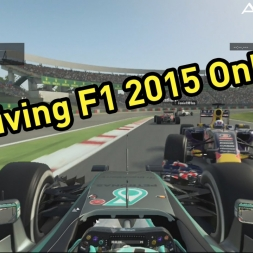 Attempting F1 2015 Online With a Pad - PS4 - AGUKHD