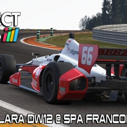 Project CARS - New Dallara DW12 Indycar @ Spa Francorchamps