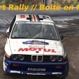Dirt Rally // Découverte boite en H °2 // Dur dur !!