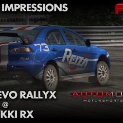 Automobilista   Mitsubishi Lancer Evo X   Tykki RX  