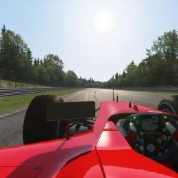 [60 FPS] Assetto Corsa - Ferrari F2002 @ Spa Francorchamps