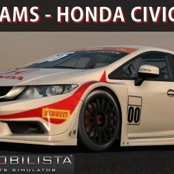 Automobilista Gameplay - Honda Civic Copa Petrobras | Corrida | G27