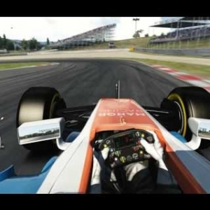 F1 2016 Manor MRT05 - Barcelona (Assetto Corsa ACFL Mod)