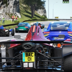 Project CARS / BAC mono / Gameplay 4K