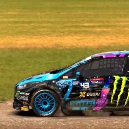 Dirt Rally - Monster FIA World Rally Cross Gamplay - Lydden Hill 1st Semi Final