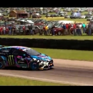 Dirt Rally - Monster FIA World Rally Cross Gameplay - Lydden Hill 2nd Semi Final