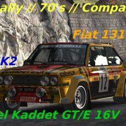 Dirt Rally // Monte Carlo // 70's // Opel Kadett GT/E vs Ford MK2 vs Fiat A3A Abarth !!