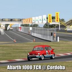 Abarth 1000 TCR @ Cordoba - Automobilista 60FPS