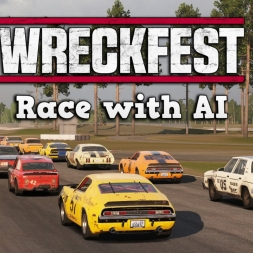 Wreckfest Early Access | Singleplayer Race @ Tarmac Track 3