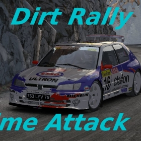 Dirt Rally // Time Attack °8 // Peugeot 306 Maxi ( Monte Carlo) + Polo WRC ( Germany )