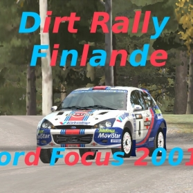Dirt Rally // Ford Focus 2001 // Finlande