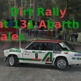 Dirt Rally // Fiat 131 Abarth // Wales