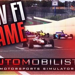 NEW F1 GAME! - AutoMobilista Gameplay - First 10 Mins Live w/ MickeyMoTiOnZ