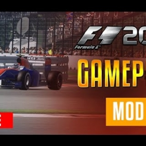 F1 2016 Gameplay MOD - Formula One 2016 Testing at Catalunya - LIVE w/ MickeyMoTiOnZ Wheel Cam