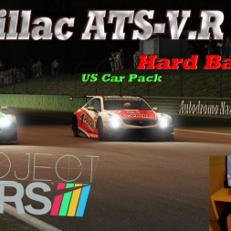 Project CARS: US Race Car Pack- Cadillac ATS-V.R GT3 VS Aston Martin Vantage V12 GT3 Monza