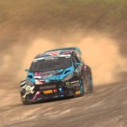 Dirt Rally - Monster FIA World Rally Cross Gameplay - Lydden Hill Final