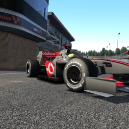 Assetto Corsa hotlaps - F1 2009 Wiliams FW31 at Brands Hatch (1:02:802)