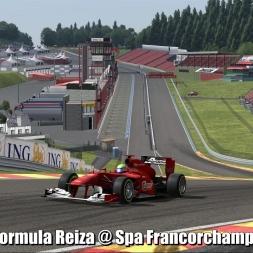 Formula Reiza @ Spa Francorchamps - Automobilista 60FPS