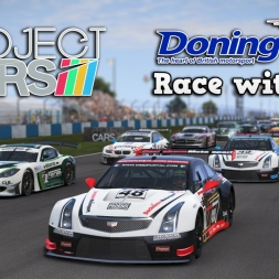 Project CARS | US Race Car Pack | 2015 Cadillac ATS-V.R GT3 @ Donington Park