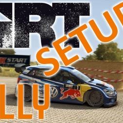 Dirt Rally - POWER - VW Polo - Gameplay - Setup Sunday
